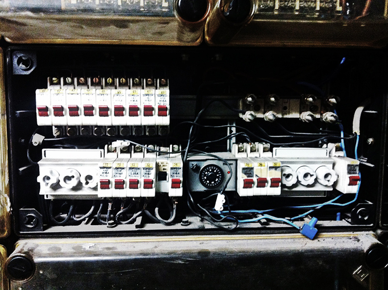 Elektro-Unterverteilung